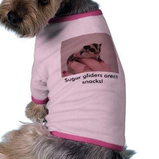 ¡Los planeadores del azúcar no son bocados! Camisetas De Perrito