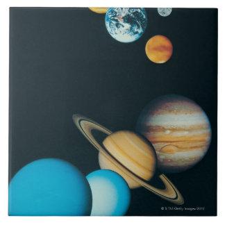 Los planetas tejas  cerámicas