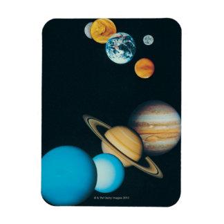 Los planetas imanes de vinilo