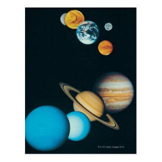 Los planetas postales