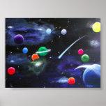Los planetas poster