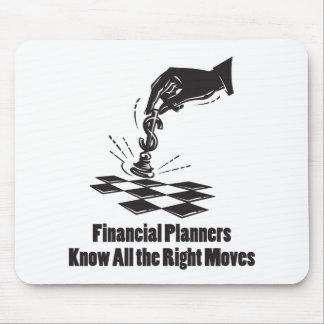 Los planificadores financieros saben todos los alfombrilla de raton