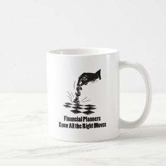 Los planificadores financieros saben todos los taza de café