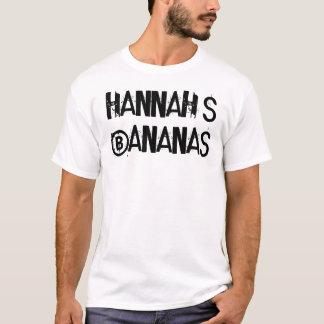 ¡Los plátanos de Hannah! Playera