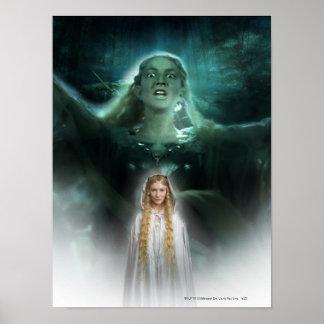 Los poderes de Galadriel Poster