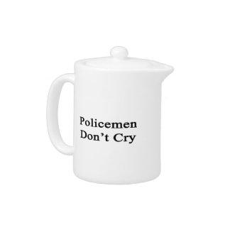 Los policías no lloran