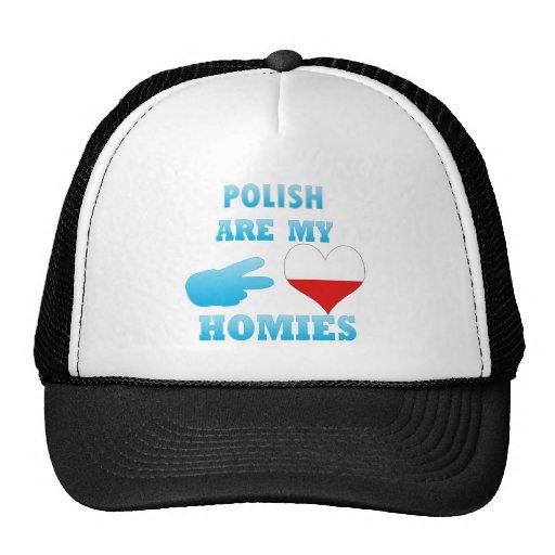 los polishs son mi Homies Gorras De Camionero