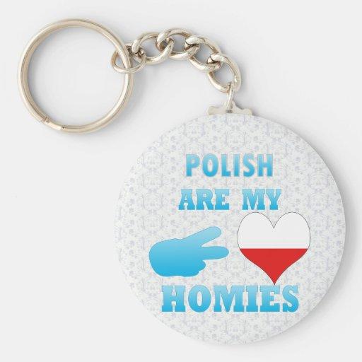 los polishs son mi Homies Llavero