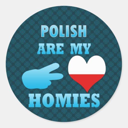 los polishs son mi Homies Etiquetas