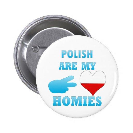 los polishs son mi Homies Pin
