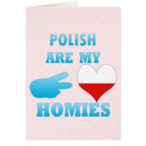 los polishs son mi Homies Felicitaciones