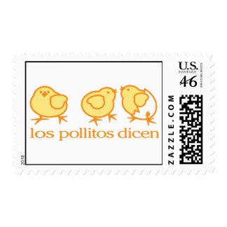 Los Pollitos Dicen stamps