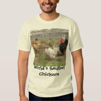 Los pollos más pequeños del mundo remera