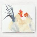 Los pollos Mousepad del amor Alfombrillas De Ratones