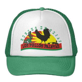los pollos paletas hats