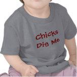 Los polluelos me cavan camisetas