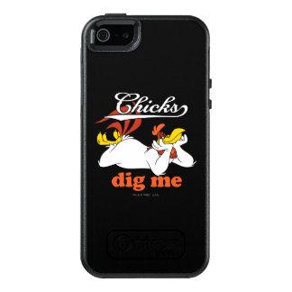 Los polluelos me cavan funda otterbox para iPhone 5/5s/SE