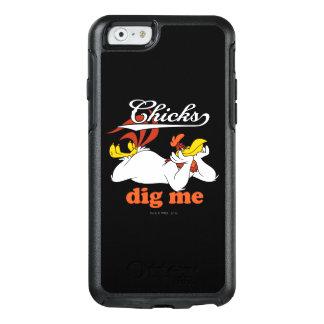Los polluelos me cavan funda otterbox para iPhone 6/6s