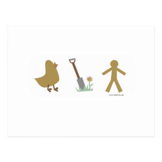 Los polluelos me cavan postales
