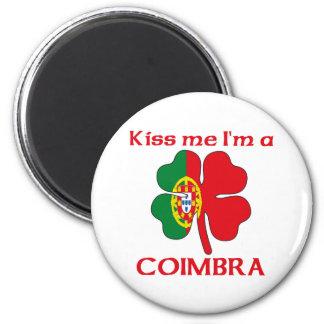 Los portugueses personalizados me besan que soy Co Imán Redondo 5 Cm