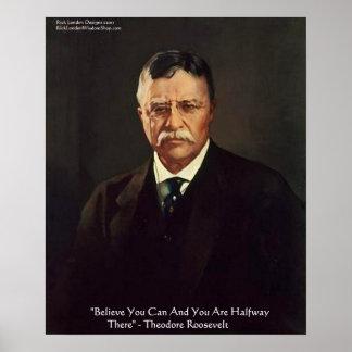 Los posters de la cita del uno mismo de Teddy Roos
