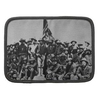 Los potros Teddy Roosevelt Rough Riders 1898 del p Planificadores