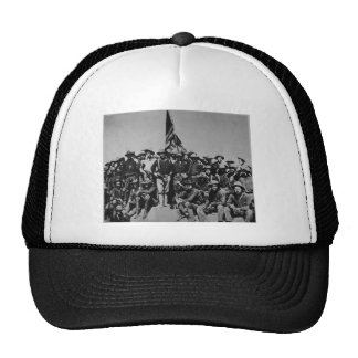 Los potros Teddy Roosevelt Rough Riders 1898 del p Gorras
