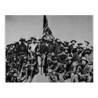 Los potros Teddy Roosevelt Rough Riders 1898 del Tarjetas Postales