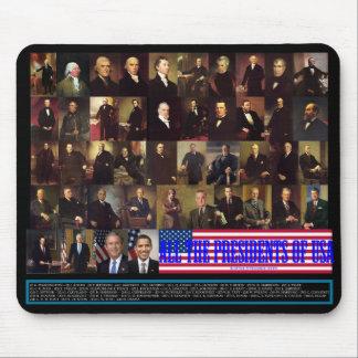 Los presidentes alfombrillas de raton