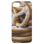 Los pretzeles enormes del vendedor ambulante de iPhone 5 coberturas