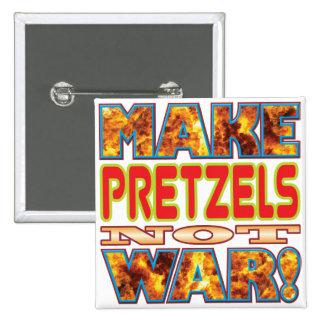 Los pretzeles hacen X Pin Cuadrada 5 Cm