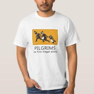 Los primeros inmigrantes ilegales camisas