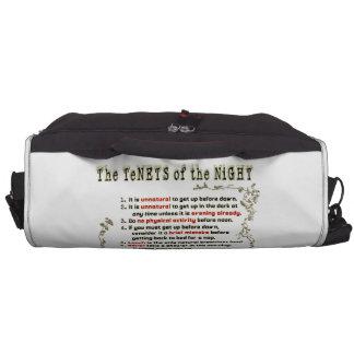 Los principios de la noche bolsas para portátil