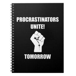 Los Procrastinators unen Libretas Espirales