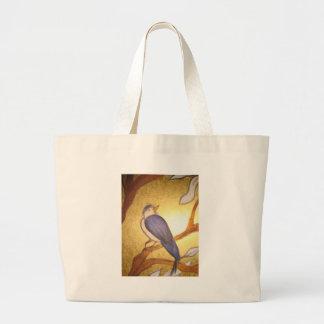 los productos de la impresión del bluebird, bebé v bolsas lienzo