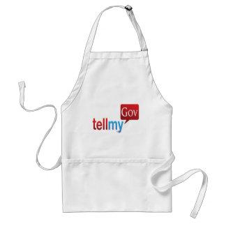 Los productos de TellMyGov satisfacen apoyan nuest Delantal