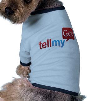 Los productos de TellMyGov satisfacen apoyan nuest Camiseta De Perrito