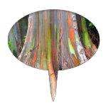 Los productos del árbol de eucalipto del arco iris decoración para tarta