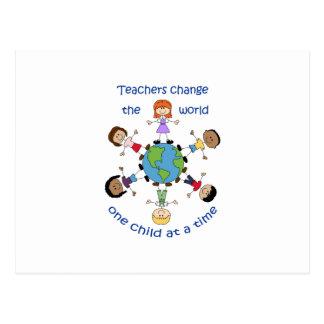 Los profesores cambian el mundo postales