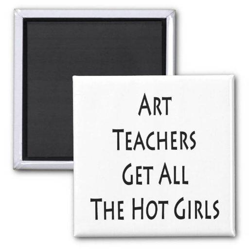 Los profesores de arte consiguen a todos los chica iman para frigorífico