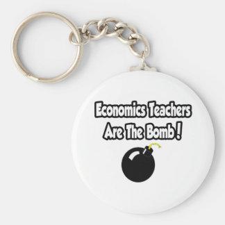 ¡Los profesores de la economía son la bomba! Llaveros Personalizados