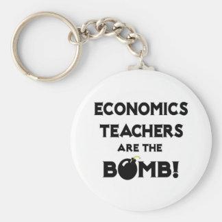 ¡Los profesores de la economía son la bomba! Llavero Personalizado