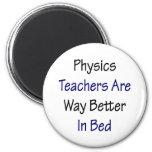 Los profesores de la física son manera mejor en ca iman