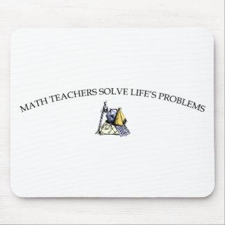Los profesores de matemáticas solucionan los probl tapete de ratón