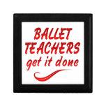Los profesores del ballet lo consiguen hecho caja de recuerdo