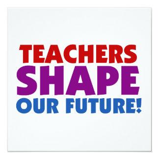 Los profesores forman nuestro futuro anuncios