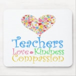 ¡Los profesores hacen a niños un mundo del bueno! Tapete De Raton