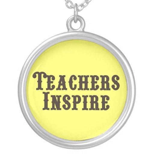 Los profesores inspiran grimpola personalizada