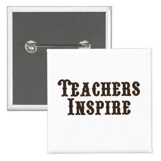Los profesores inspiran pins