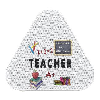Los profesores lo hacen con la clase altavoz